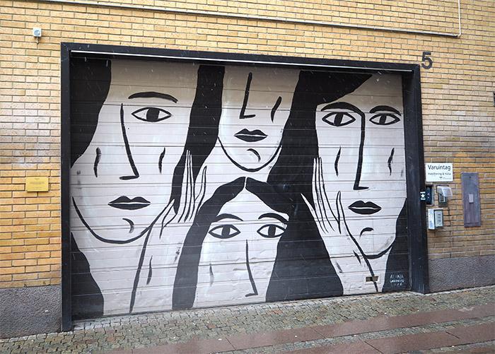 street art Göteborg Suède