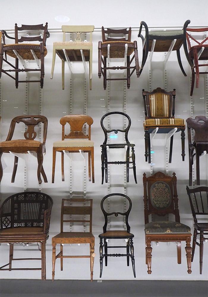 chaises collection beaux arts Göteborg