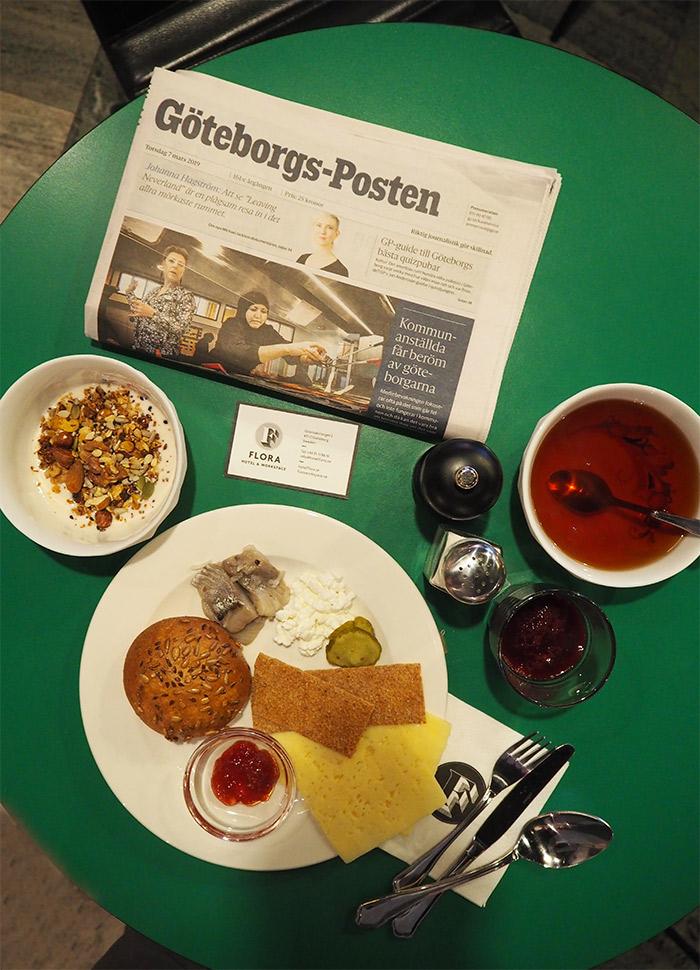 petit dejeuner hotel flora Göteborg