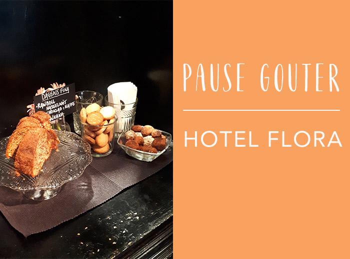 goûter hotel flora göteborg
