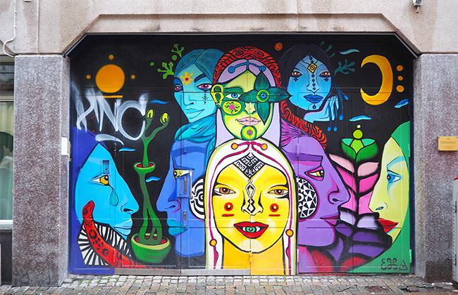 suède goteborg street art