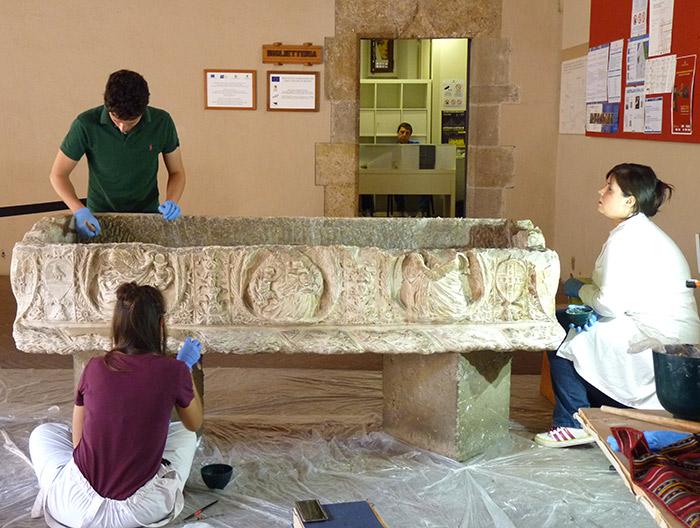 restauration palais abatellis palerme sicile