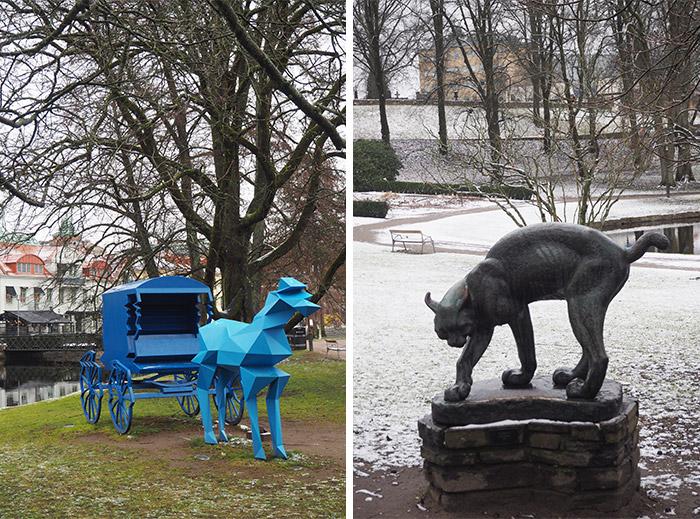 Stadsparken Borås Suède
