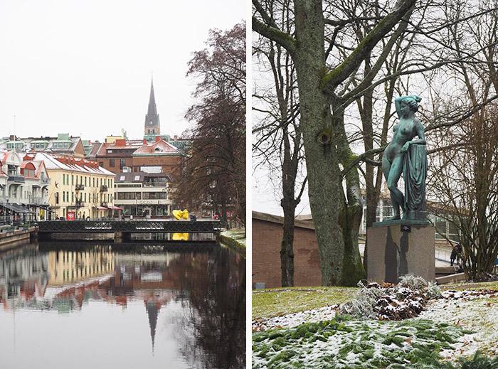 Suède parc sculptures Borås