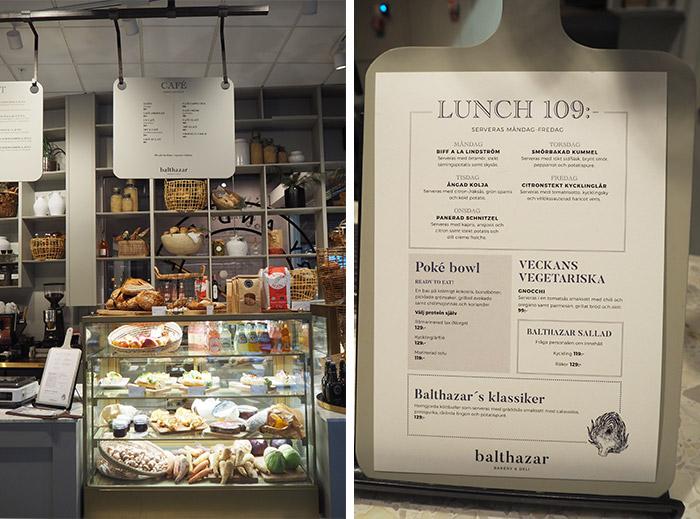lunch Balthazar Borås Suède