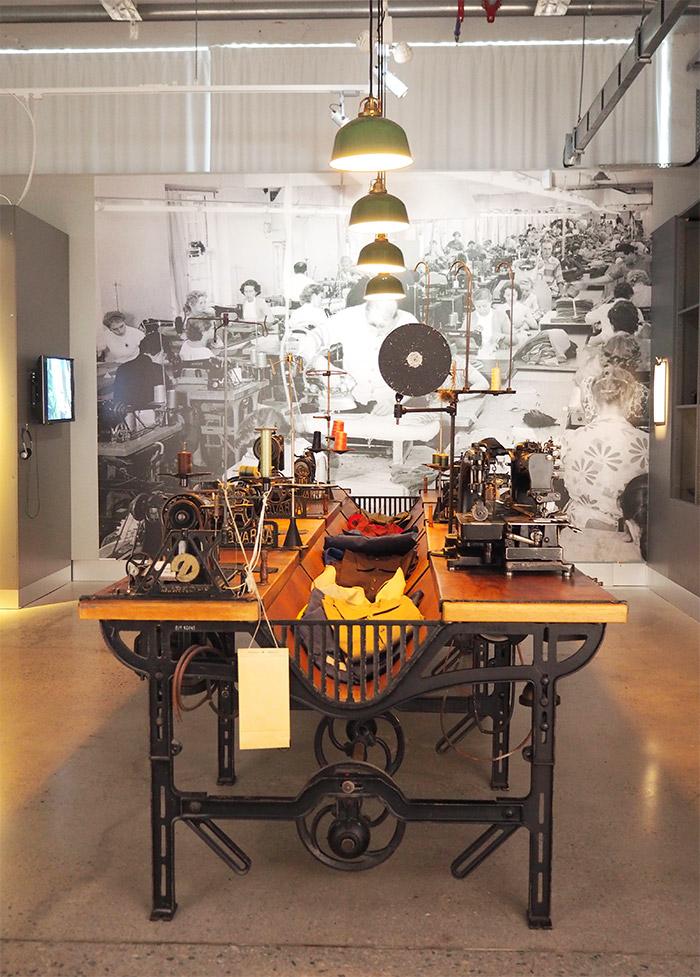 Suède Borås musée textile fashion