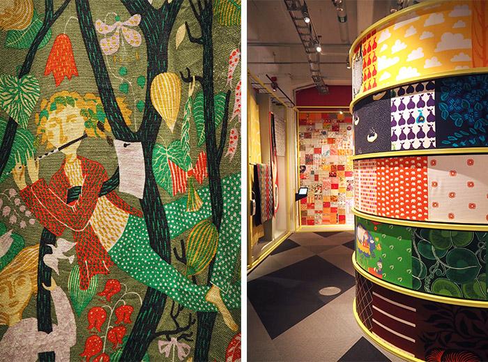 musée Borås tissu motifs