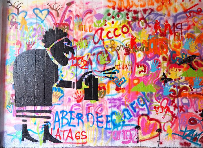 Nuart Aberdeen wall
