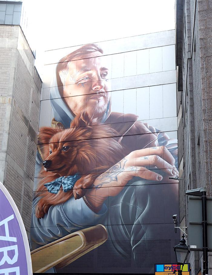 Nuart Smug street art