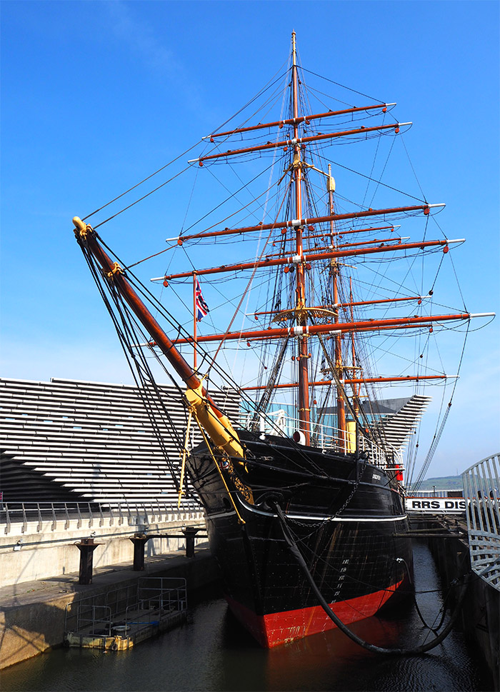 visite bateau discovery ship dundee