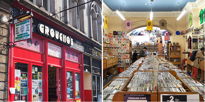 dundee magasin disques groucho