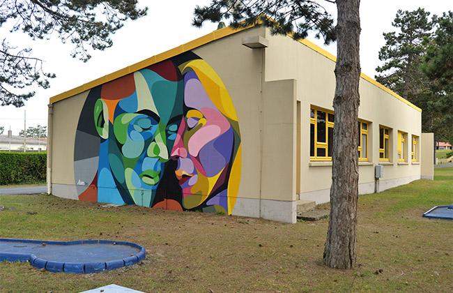 alber street art azureva normandie