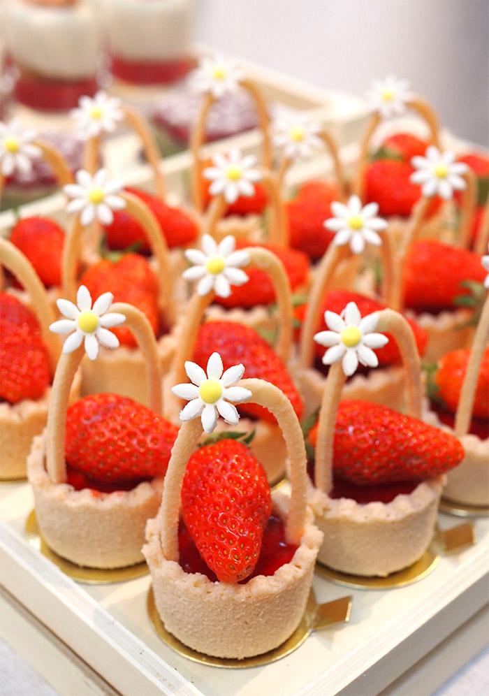 gateau fraise patrick agnellet