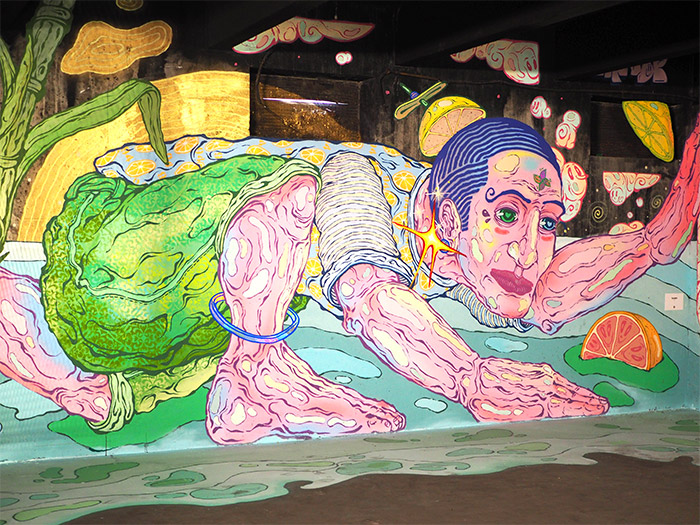 peinture fraiche lyon yandy graffer