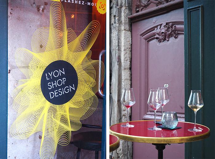 lyon shop design bar illustre