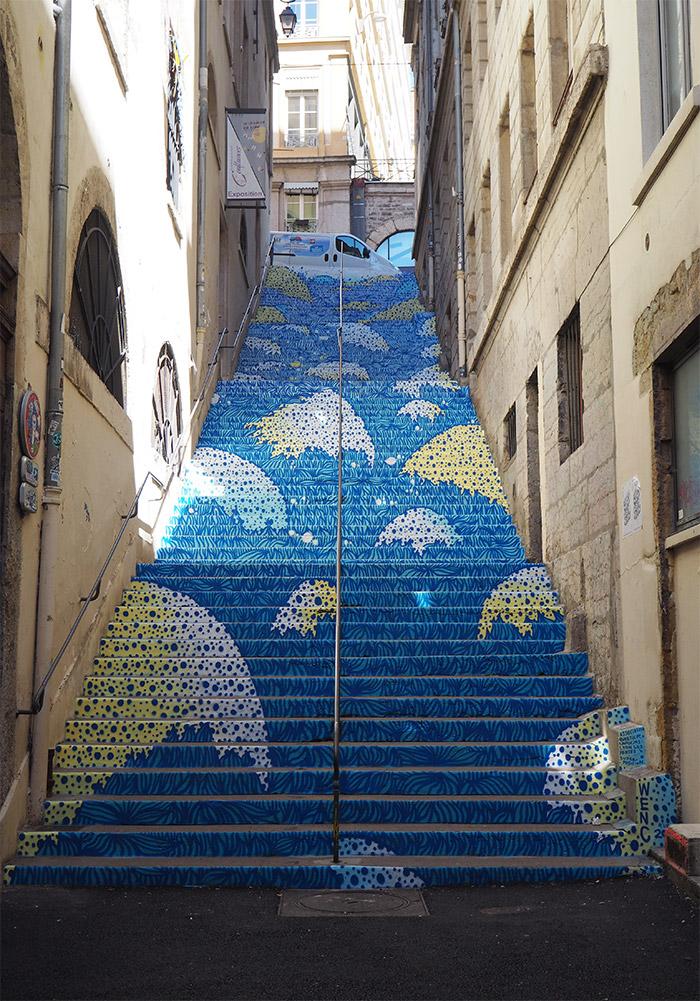wenc escalier passage mermet Lyon