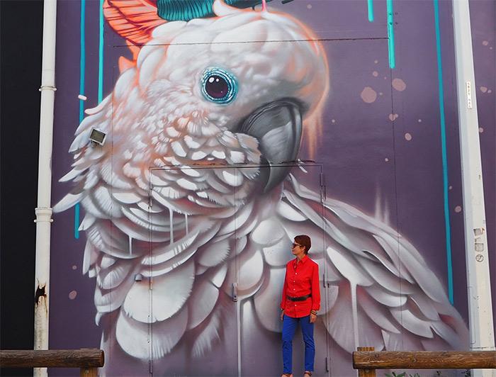 Kalouf street art Lyon