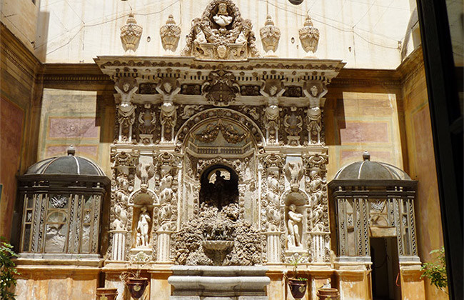 fontaine palais mirto palermo