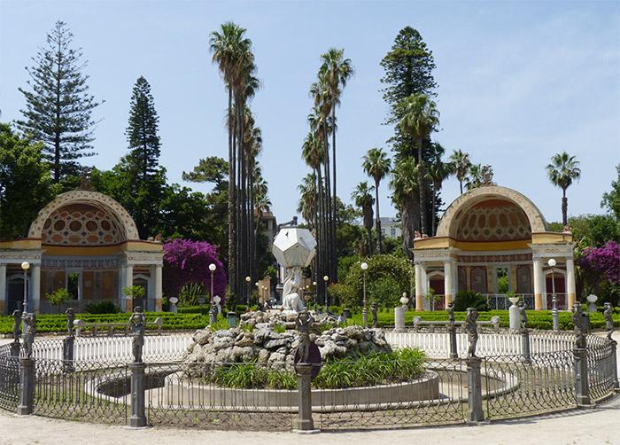 sicile palerme jardin botanique
