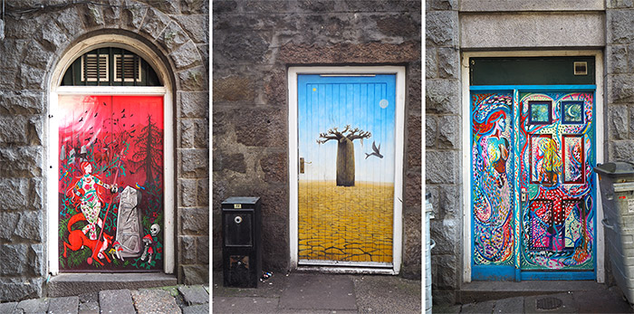 painted doors aberdeen