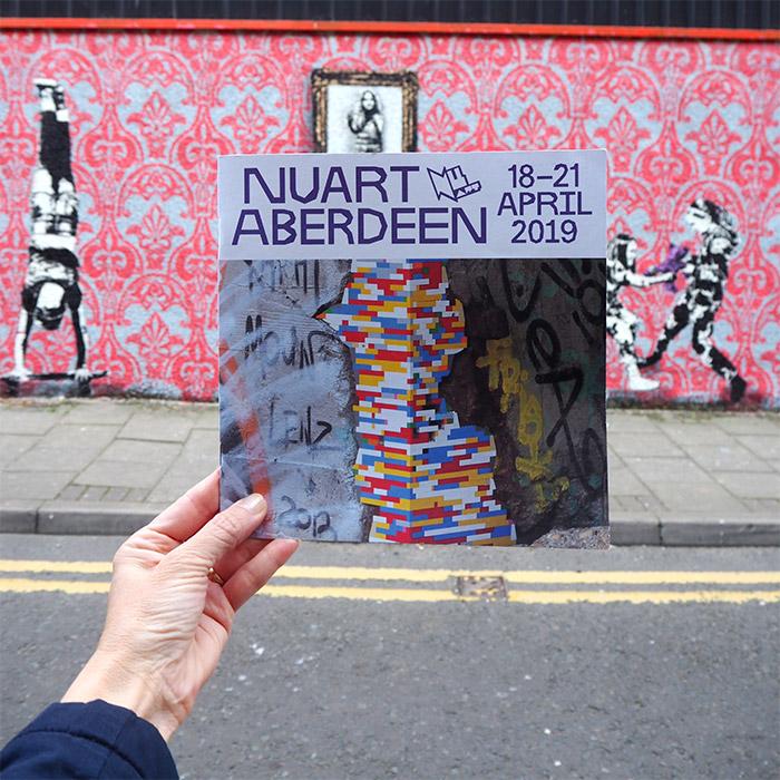 nuart festival aberdeen dotmasters uk