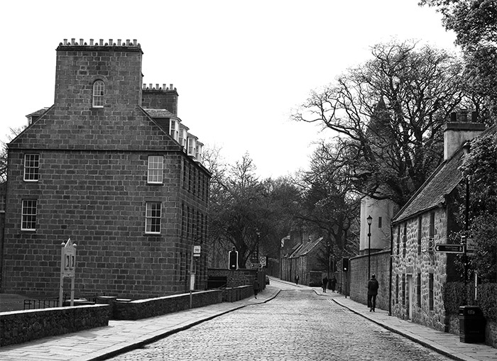 maisons old aberdeen ecosse