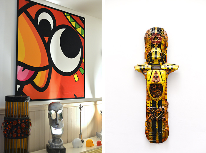 art skateboard Didier Ra art