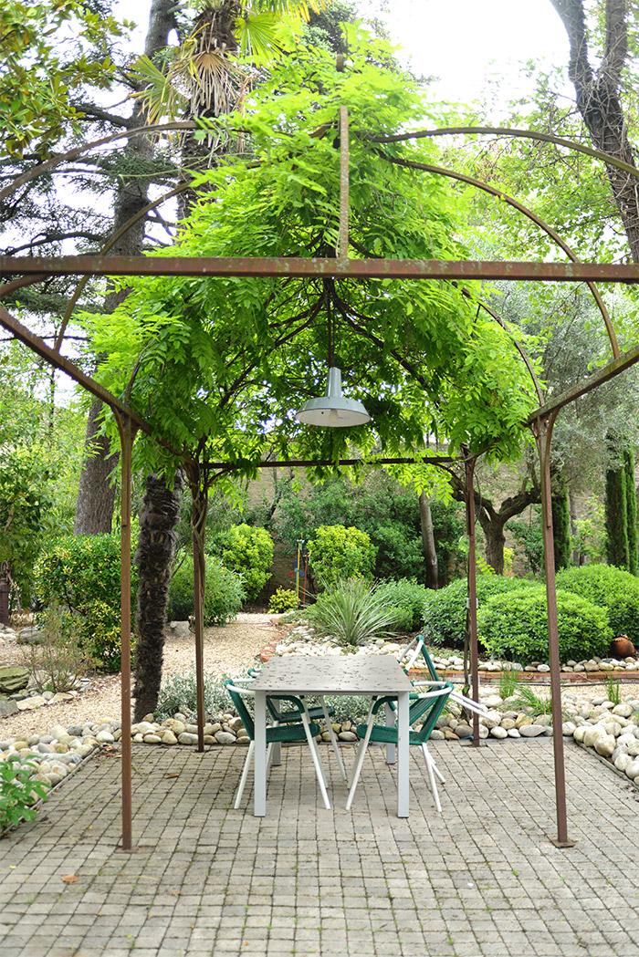 jardin la maison vintage