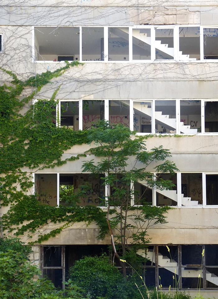 hotel abandonné kupari croatie
