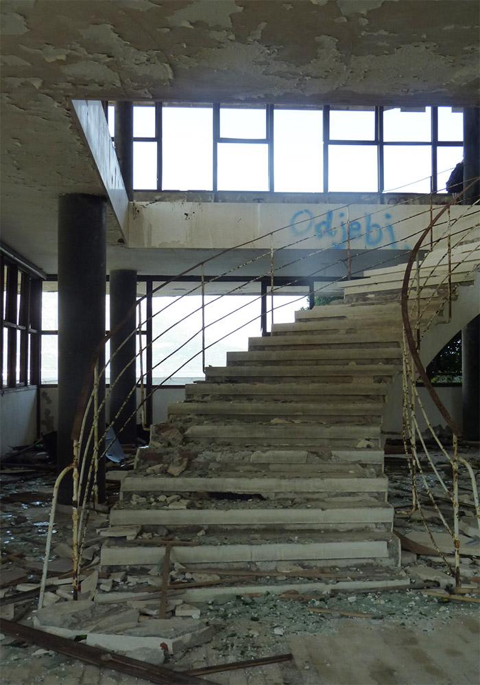 kupari hotel abandonné