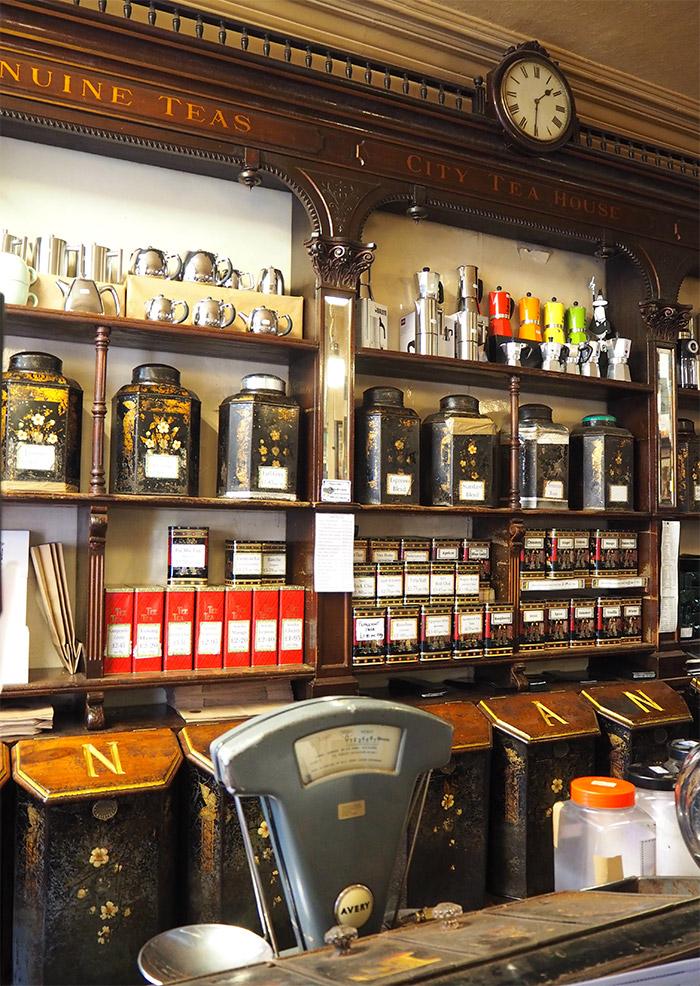 Braithwaite marchand thé café Dundee
