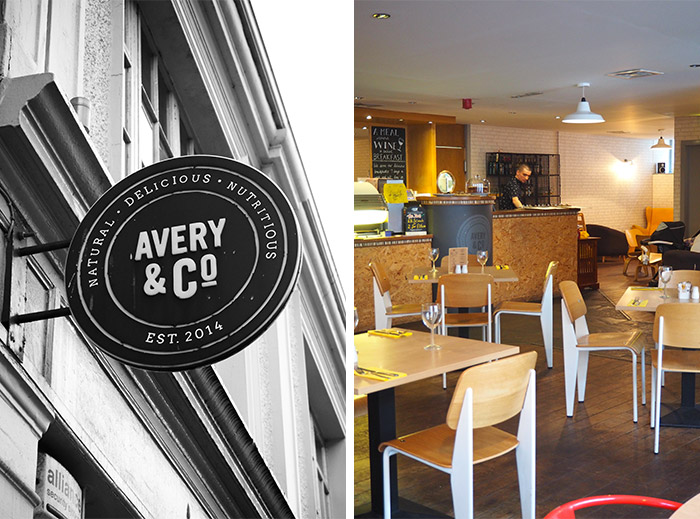 Avery and Co restaurant Dundee