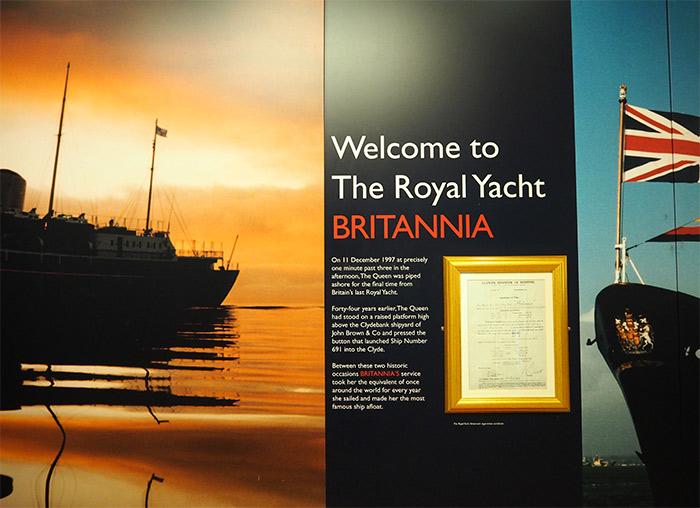 royal yacht britannia bateau visite