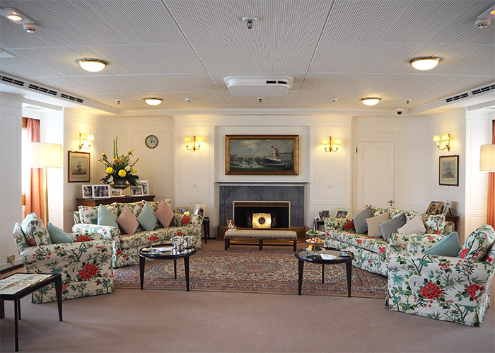 salon royal yacht britannia