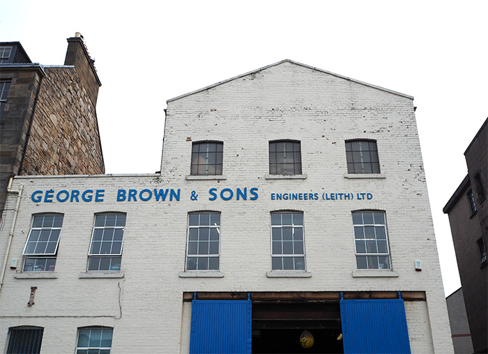 garage brown sons leith edinburgh