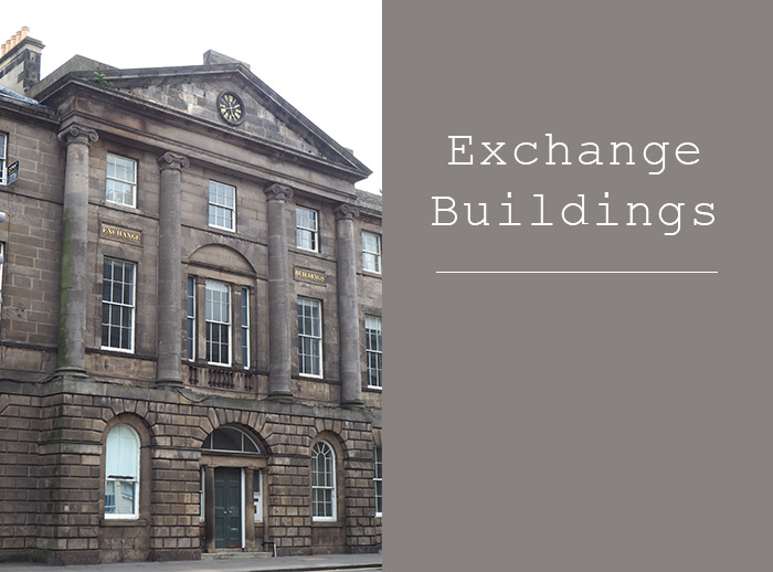 exchange buildings leith edinburgh