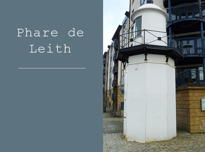 leith lightouse edinburgh