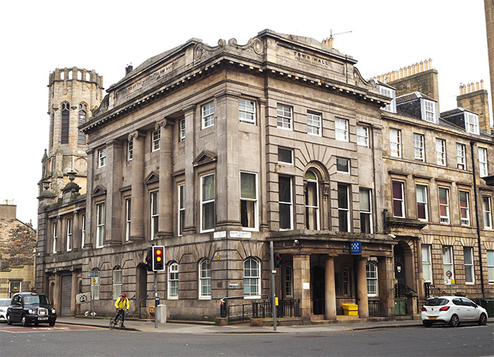 Edimbourg police station council