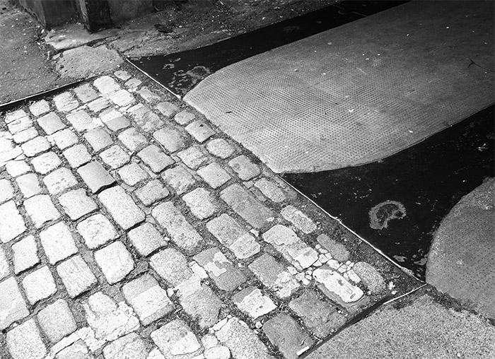 pavés rue edimbourg leith