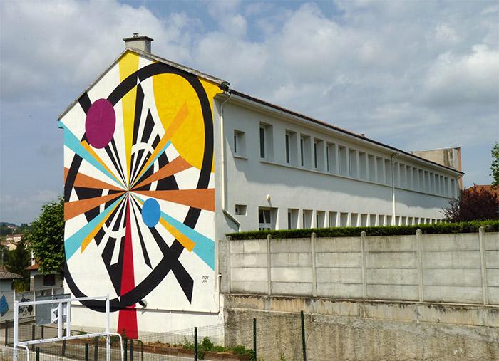lady m street art safir festival