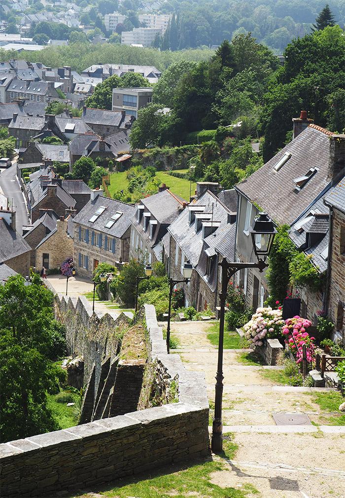 escalier brenevelez Lannion Côtes d'Armor