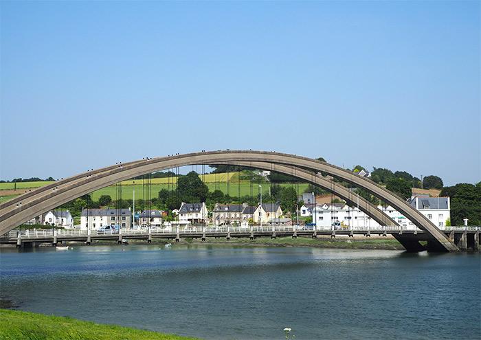 treguier pont canada bretagne
