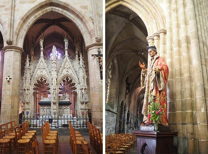 treguier saint tugdual yves cotes armor