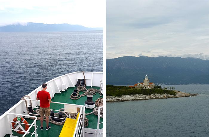 ferry bateau drvenik hvar croatie