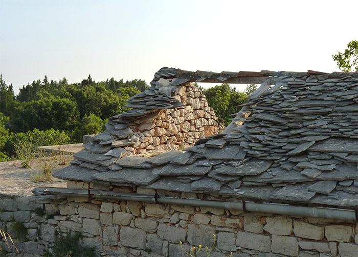Croatie Hvar maison abandonnée