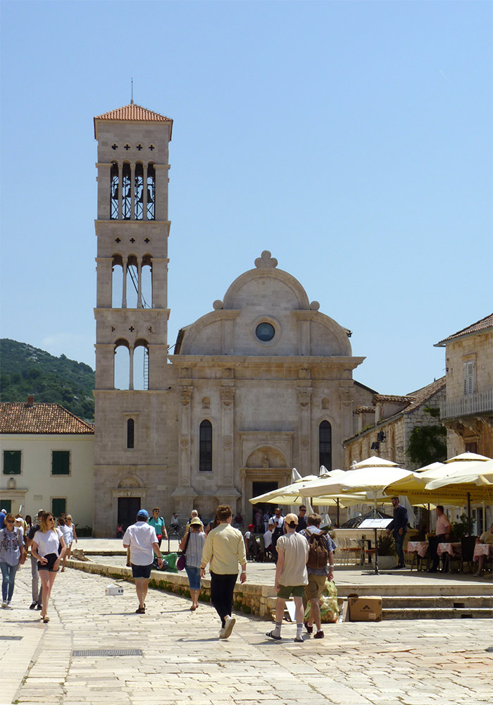 hvar saint stephen place eglise