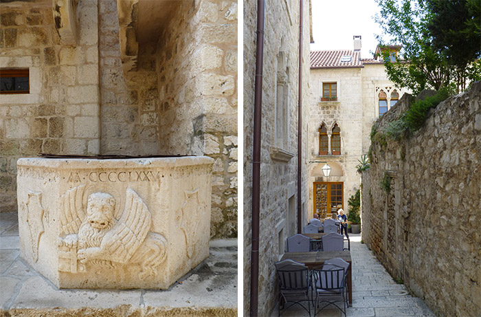 Hvar puits pierre croatie