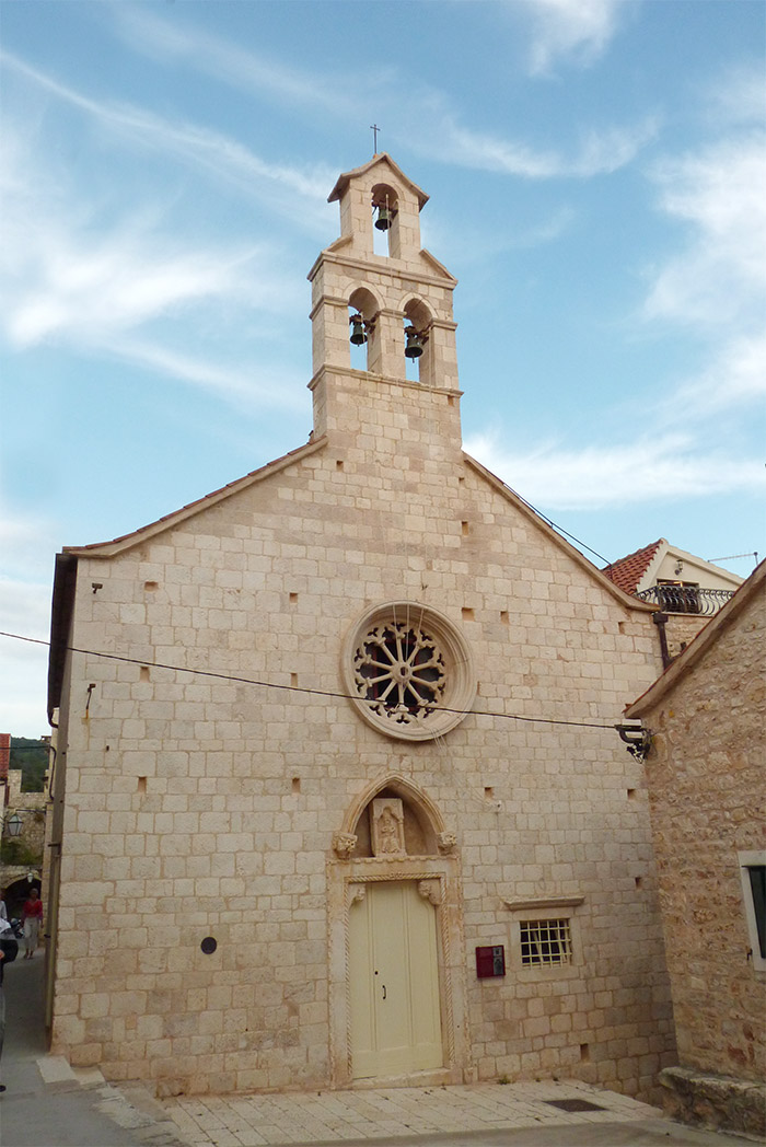 holy spirit church hvar croatia