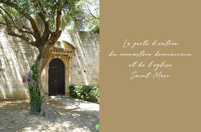 hvar monastere dominicain eglise saint marc