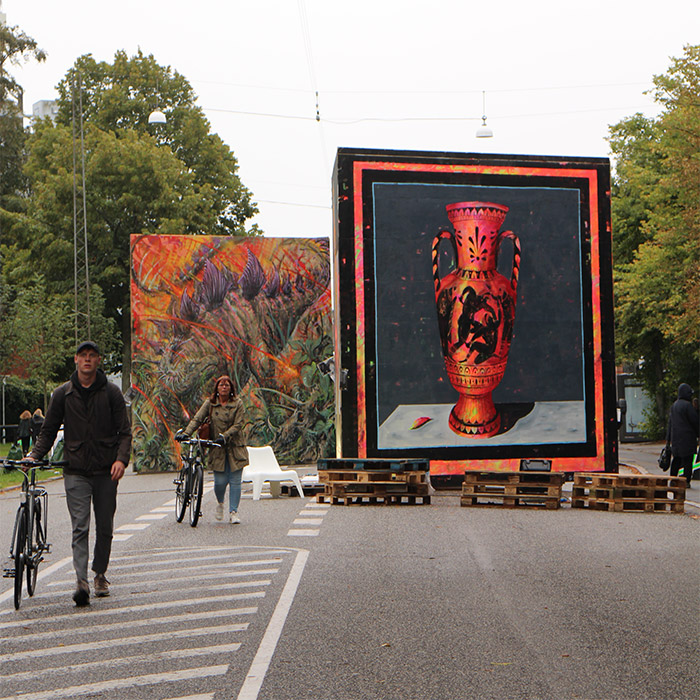 danemark street art aarhus